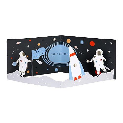 (Meri Meri, Happy Birthday, Concertina Space Card)