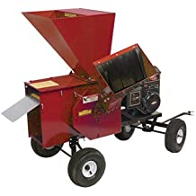Merry Mac Tow-Behind Chipper/Shredder - 249cc Briggs & Stratton Powerbuilt OHV Engine, 3 1/2in. Capacity, Model# 12PT1100M