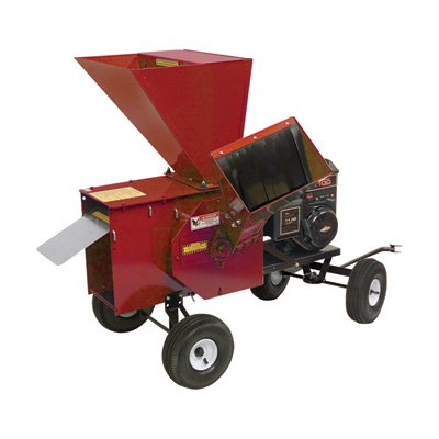 Merry Mac Tow-Behind Chipper/Shredder - 249cc Briggs & Stratton Powerbuilt OHV Engine, 3 1/2in. Capacity, Model# 12PT1100M by Merry Mac