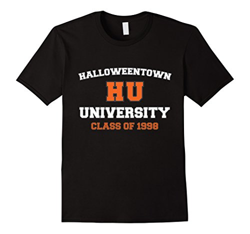 Mens Halloween Town University Class of 1998 T-Shirt XL Black