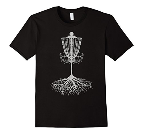 Men's Disc Golf Tree Roots Shirt -  Basket, Target Gift Souvenir T 3XL Black