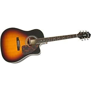 epiphone masterbilt aj 500rce acoustic electric guitar vintage sunburst musical. Black Bedroom Furniture Sets. Home Design Ideas