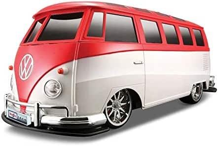 Veículo Controle Remoto - Volkswagen Van Samba - 1/10 - Vermelho - Maisto