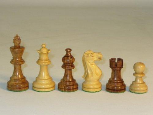 Chopra Sheesham American Emperor Chess Pieces by Chopra
