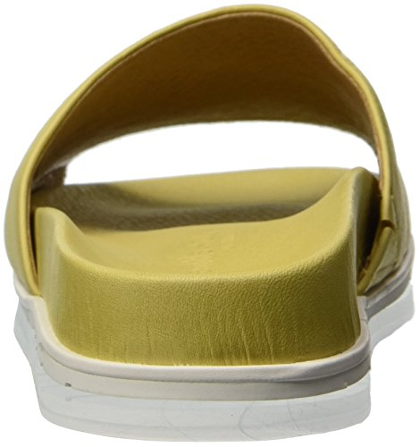 by Kenneth Souls Slide Flat Pool Pale Cole Sandal Sandal Iona Gentle Yellow Women's 5wO4B4q