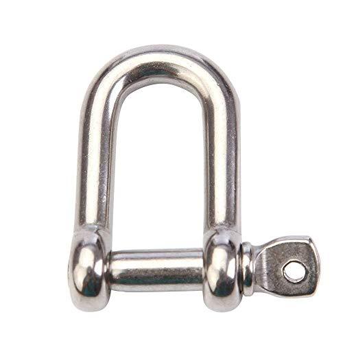Hebilla de conexión curvada triangular al aire libre del acero inoxidable, cerradura de la cerradura de la seguridad del...