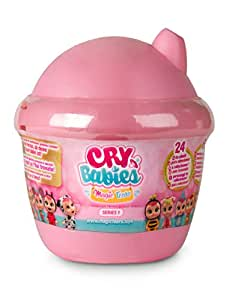 IMC Toys - Mini Bebés llorones lágrimas mágicas 12cm, Multicolor (98442)