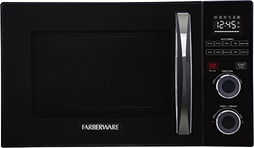 Farberware FMO10AHSBKA Countertop with with Healthy Air Fry and Grill/Convection Function, 1.1 Cu. Ft, Black ()