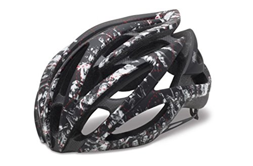 Giro Atmos Road/Racing Bike Helmet (Small, Matte Black/White Crowd) Review
