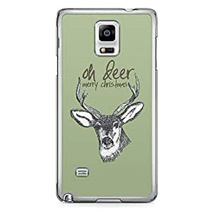 Oh Dear Samsung Galaxy Note 4 Transparent Edge Case - Christmas Collection