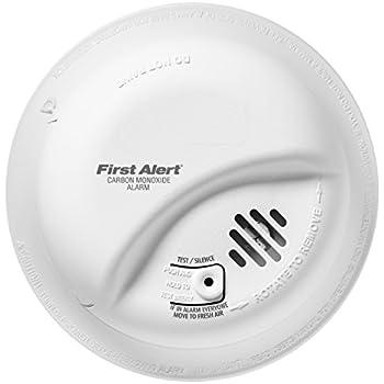 BRK Brands CO5120BN Hardwire Carbon Monoxide Alarm with Battery Backup
