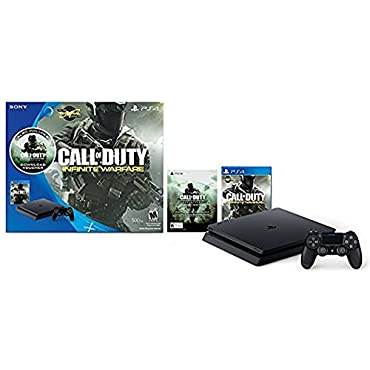 PlayStation 4 Slim 500GB Console Call of Duty: Infinite Warfare Bundle [Discontinued]
