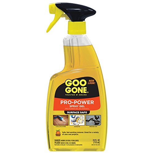 Goo Gone 2080 Pro-Power Spray Gel, Citrus Scent, 24 fl. oz., 11.25