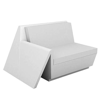 Amazon.com : Vondom Rest Sofa Right Module White : Garden ...