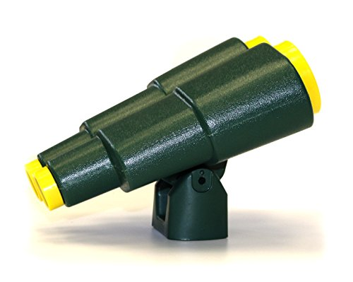 Eastern Jungle Gym Extra Large Plastic Toy Binoculars Green Swing Set Accessory for Kids Backyard Wooden Swing Set