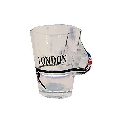 Verre /à liqueur Verre /à liqueur mignon avec bikini int/égr/é souvenir Souvenir bikini et Union Jack Verre /à liqueur.
