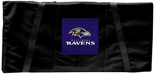(Victory Tailgate Baltimore Ravens NFL Football Regulation Cornhole Carrying Case)
