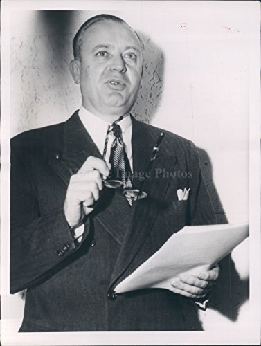 Vintage Photos 1950 Photo Washington DC Senator Styles Bridges Secretary Dean Acheson ()