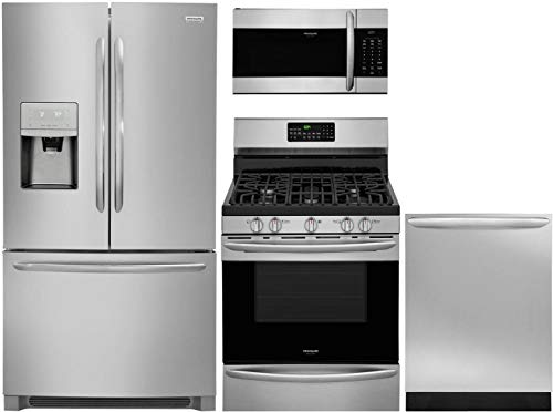 Frigidaire 4 Pcs Kitchen Package with FGHD2368TF 36