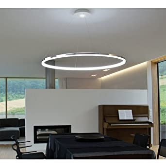 LED Ring Pendelleuchte Modernes Design Fr Wohnzimmer