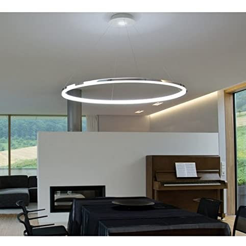 Led ring pendelleuchte modernes design fur wohnzimmer for Wohnzimmer pendelleuchte