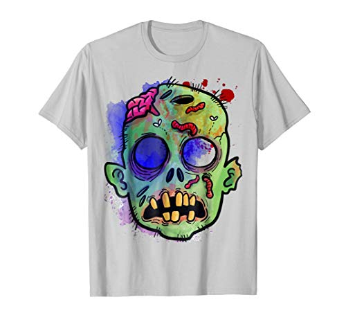 Halloween Skull Scary Skeleton Ghost Zombie Shirt Gift Idea