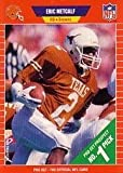 #8: 1989 Pro Set Football Rookie Card #489 Eric Metcalf Mint