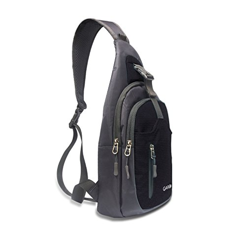 CARQI Sling Bag Waterproof Shoulder Backpack Crossbody Purse for Hiking Camping Men and (Small Bag Strap)