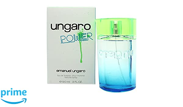 Emanuel ungaro - Power eau de toilette 90ml vaporizador: Amazon.es: Belleza