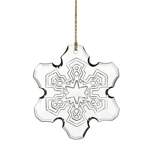 2015 Annual Snowflake Ornament - Marquis By Waterford 2015 Annual Snowflake Ornament, 3.6