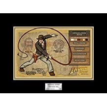 Indiana Jones Acme Character Key 8 x 6 inches