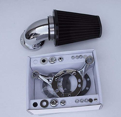 (ACCESSORIESHD - SCREAMING EAGLE STYLE AIR CLEANER FILTER KIT CV CARB HARLEY SOFTAIL DYNA TOURING)