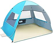 Large Pop Up Beach Tent New Anti UV Sun Shelter Tents Portable Automatic Baby Beach Tent Instant Easy Outdoor