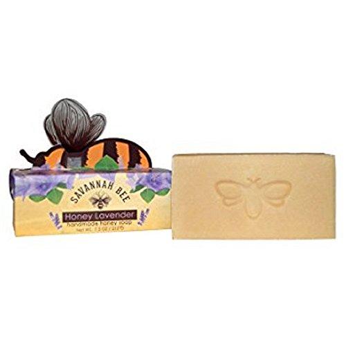 Honey Lavender Honey Bar Soap (Bee Soap Savannah)