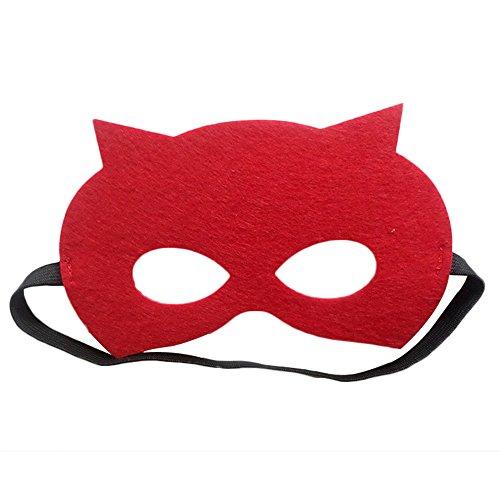 Daredevil Halloween Masks (Halloween Superheroes Mask-Shiny Party Prom Mask (Daredevil))