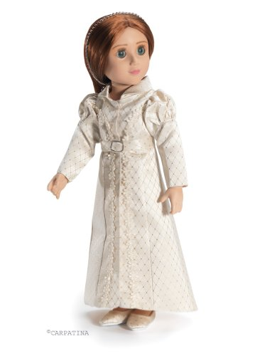 [Regency Redingote Pelisse Coat and Shoes ~ Historical Doll Clothes for Carpatina 18