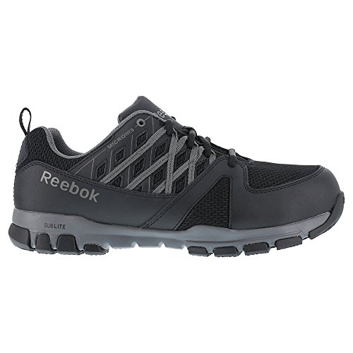 Sublite Women's 10 Work Toe Work Reebok 5 Black Sneaker Soft W SD RB415 US qawE55g