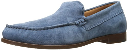 Donald J Pliner Men's Nate Slip-On Loafer, Blue Distressed Suede, 9 M ()