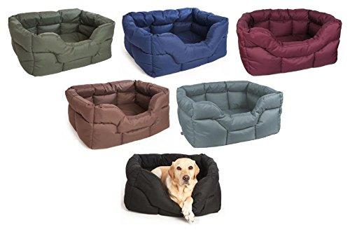 alta qualità generale Pets and Leisure Leisure Leisure resistente impermeabile rettangolare Softee letto per cani – nero – Jumbo  saldi