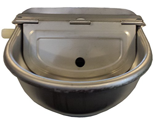 RITE FARM PRODUCTS STAINLESS STEEL AUTOMATIC STOCK WATERER HORSE CATTLE GOAT SHEEP HOG PIG LAMB LIVESTOCK DRINKER BOWL by Rite Farm Products (Image #2)