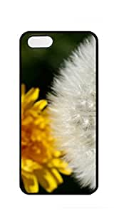 Design Phone Protective Cover case iphone 5s golden - Dandelion and yellow flowers