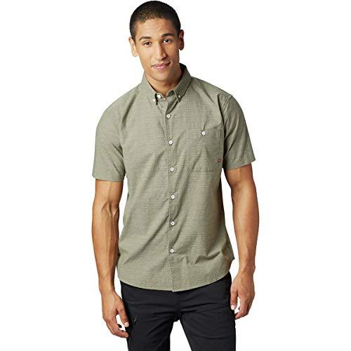 - Mountain Hardwear Clear Creek Short Sleeve Shirt - Men's Light Army Large