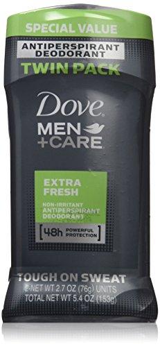 Dove Men + Care 48h Non Irritant antitranspirant déodorant extra-frais parfum, 2.7 oz, Six hommes Pack