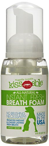 KISSABLE Fresh Breath Foam for Pets