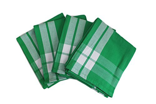 Williams Sonoma Kitchen Towels (Set of 4) (Window Pane Green)