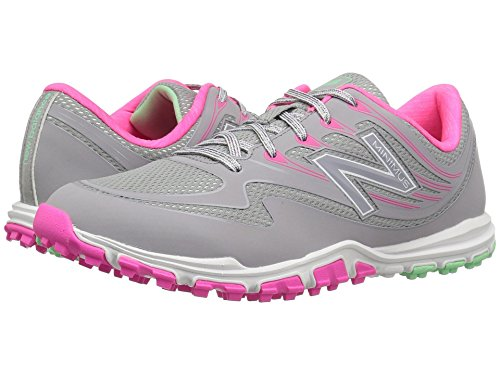 ラジウム忙しい準備ができて(ニューバランス) New Balance レディースランニングシューズ?スニーカー?靴 NBGW1006 Minimus Sport Grey/Pink 9 (26cm) D - Wide
