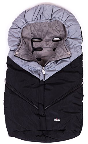 Chicco Universal Baby Stroller Sleeping Bag Footmuff Black