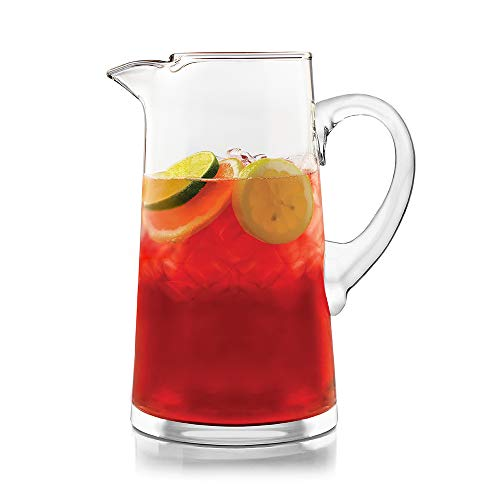 Libbey Cantina Glass Pitcher, 90-ounce (Sangria Glass Pitcher)