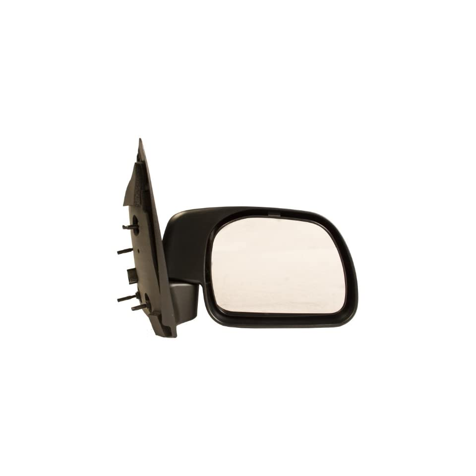 OE Replacement Ford Super Duty Pickup Passenger Side Mirror Outside Rear View (Partslink Number FO1321217)