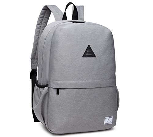 Ozuko Multipurpose Light Wieght Executive Backpacks for Students, Businessmen,Travellers and Office Use. Light Grey
